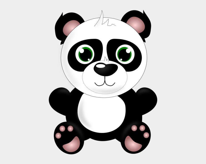 baby grizzly bear clipart, Cartoons - Small To Medium Sized Cats,vertebrate,teddy Bear - Baby Panda Clipart