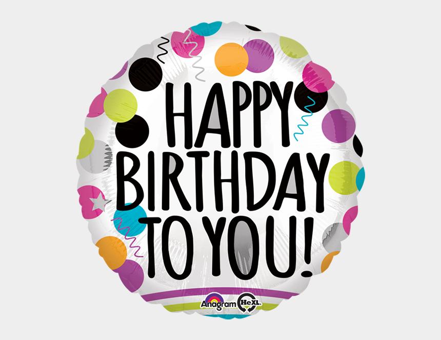 happy birthday balloon clip art, Cartoons - #happybirthday #birthday #balloon #happy #bday #bestoftheday - Happy Birthday 3d Sticker Download