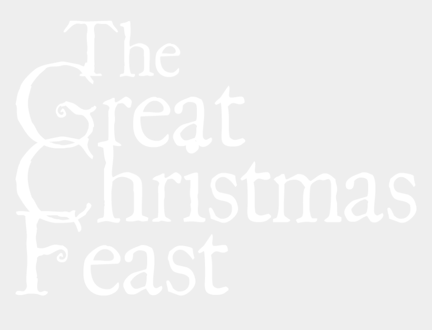 christmas party clipart black and white, Cartoons - The Great Christmas Feast - Great Christmas Feast London