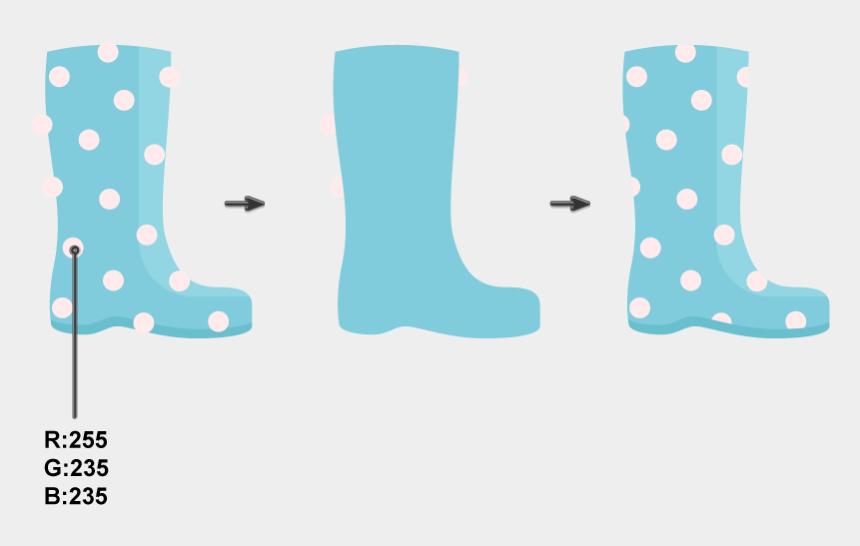 rain boot clip art, Cartoons - Cowboy Boot