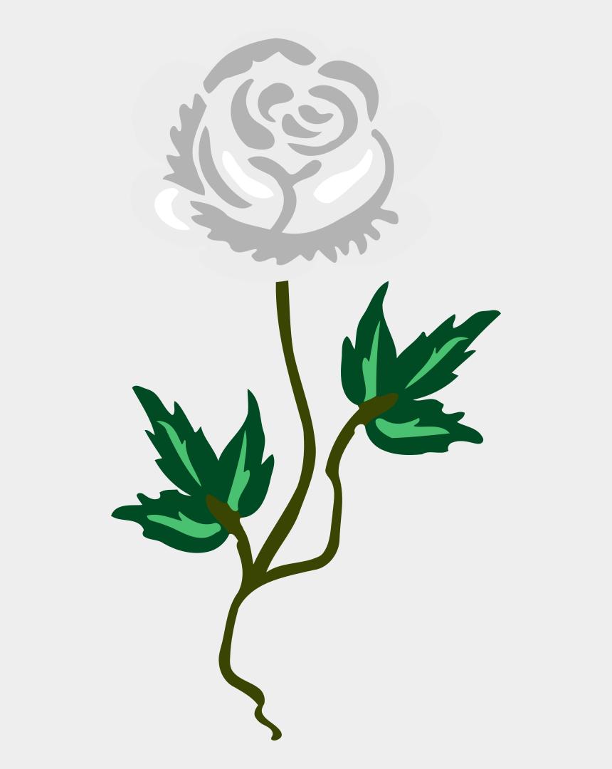 long stem rose clip art, Cartoons - Rose 17 - Frases De Rositas