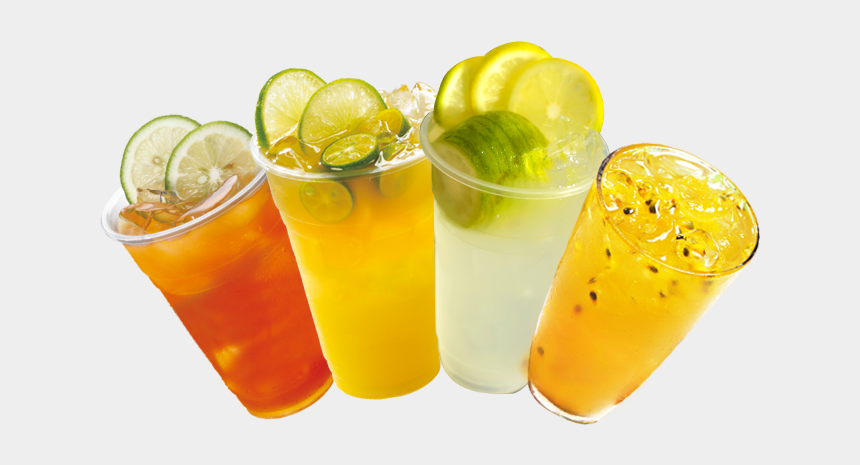 summer drinks clip art, Cartoons - Transparent Juice Cup Png