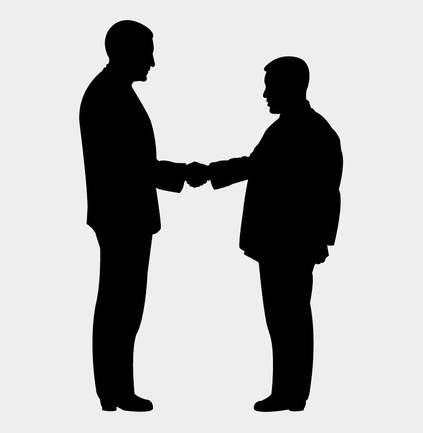 people shaking hands clip art, Cartoons - People Shake Hands Vector