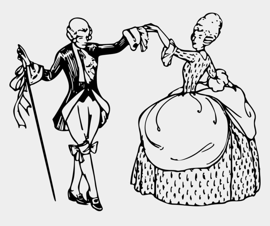 people dancing clip art, Cartoons - Emotion,art,people - Minuet Dance