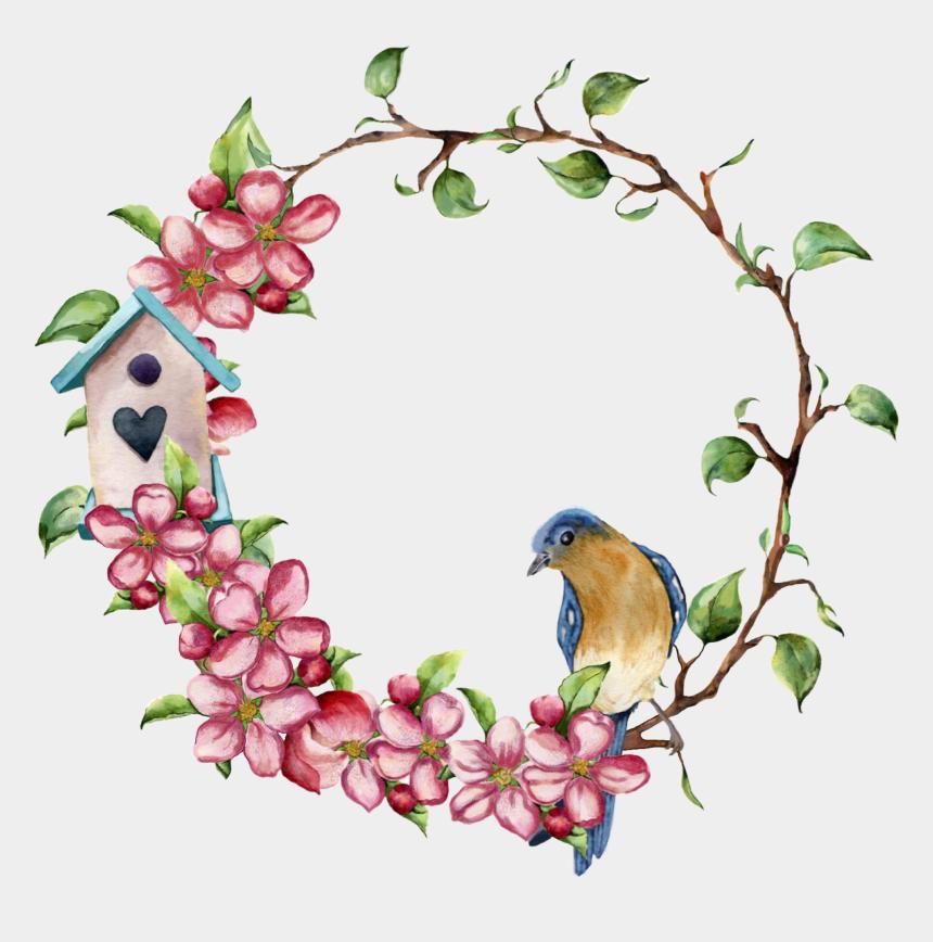 dogwood flower clip art, Cartoons - Painting Pillow Cover Design
