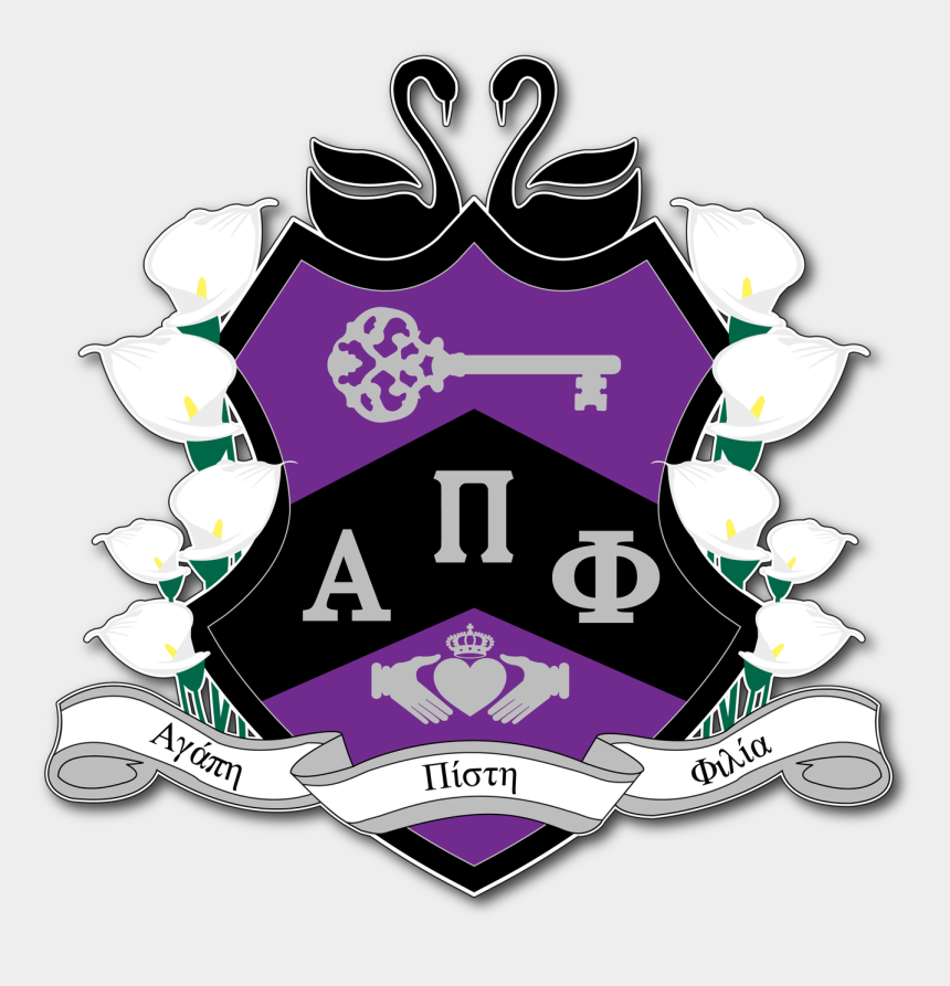 pi symbol clip art, Cartoons - Alpha Pi Phi Crest