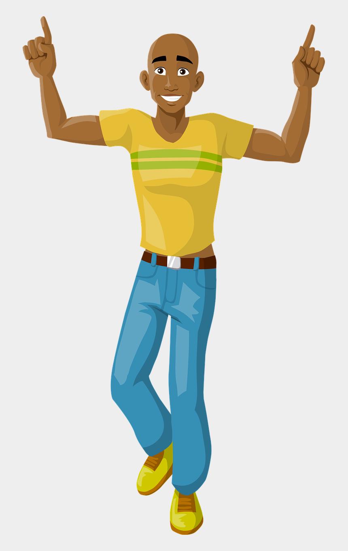 happy man clip art, Cartoons - Happy Man Dancing Free Photo - Igbo Parts Of The Body