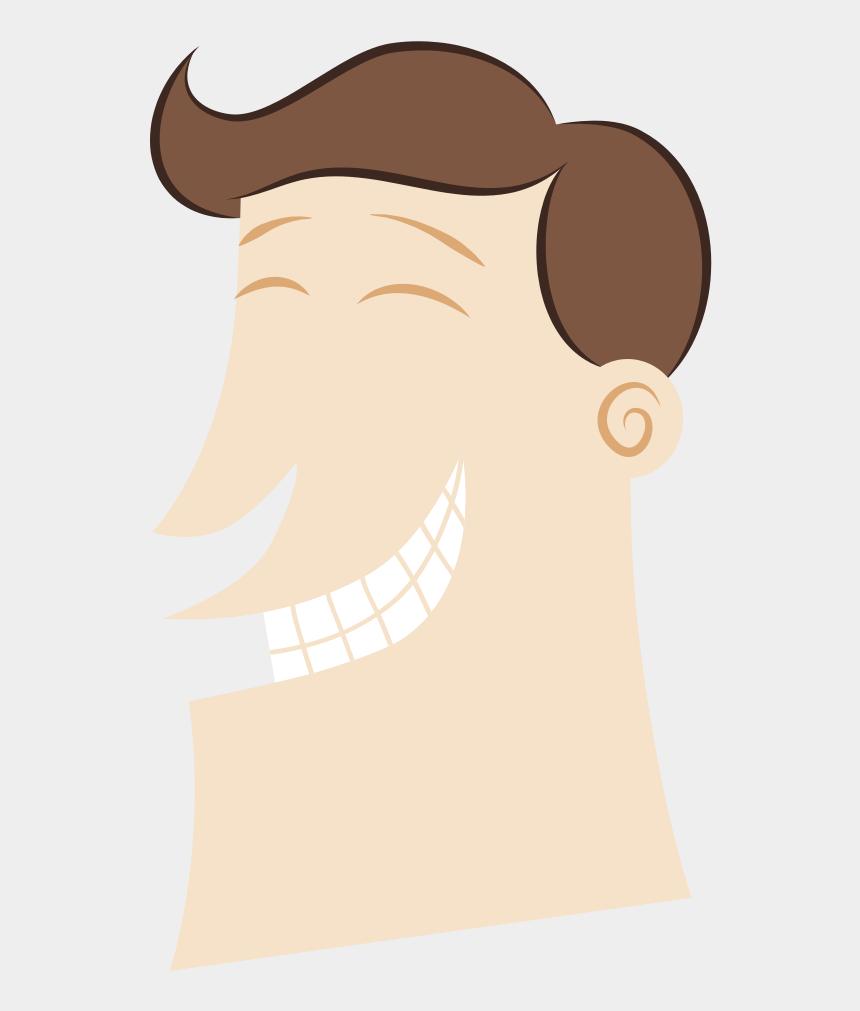 happy man clip art, Cartoons - Happy Man - Illustration