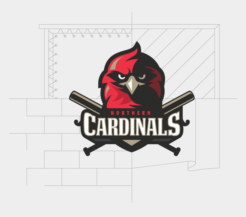 cardinal baseball clip art, Cartoons - Cardinal Logo-03 - Cardinal Sports Logo Ideas