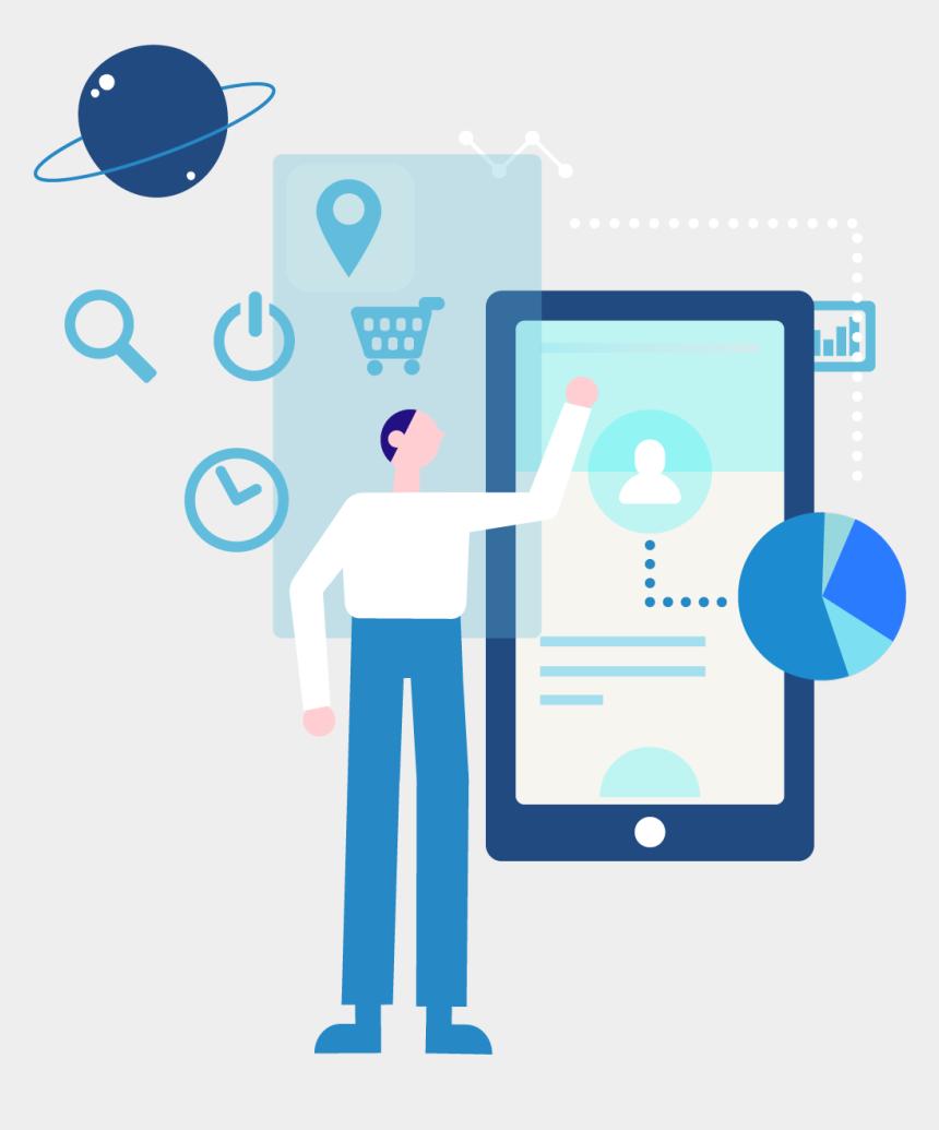 q tips clip art, Cartoons - Sms Marketing Solution Png