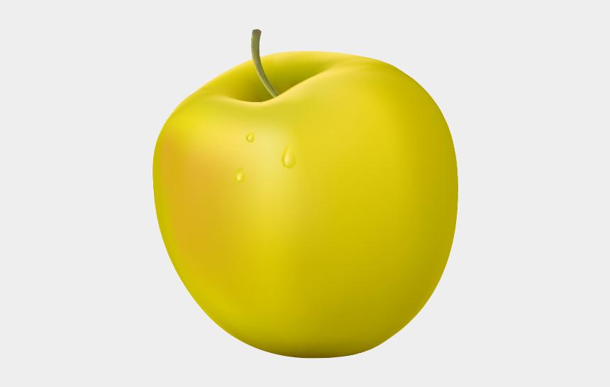 yellow apples clip art, Cartoons - Granny Smith