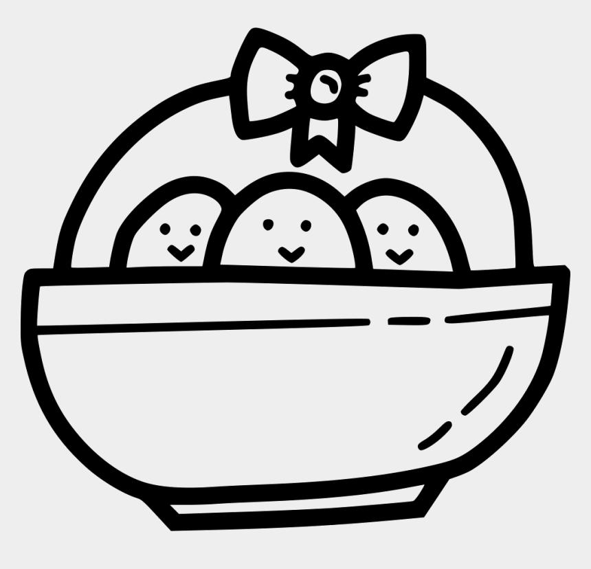 gift bow clip art, Cartoons - Chicken Chickling Bow Ribbon Basket Gift