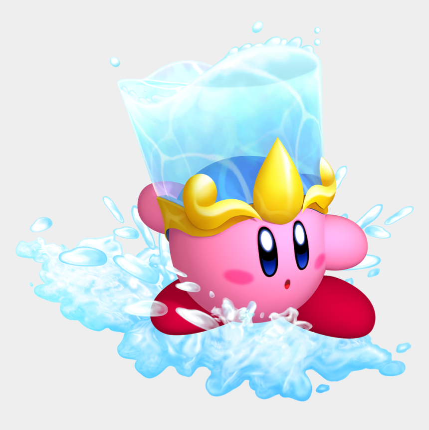 bucket of water clip art, Cartoons - Kirby With A Bucket Of Water On His Head Clipart , - Kirby Return To Dreamland Concept