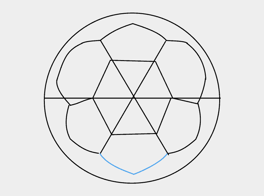 soccer balls pictures clip art, Cartoons - How To Draw Soccer Ball - Circle