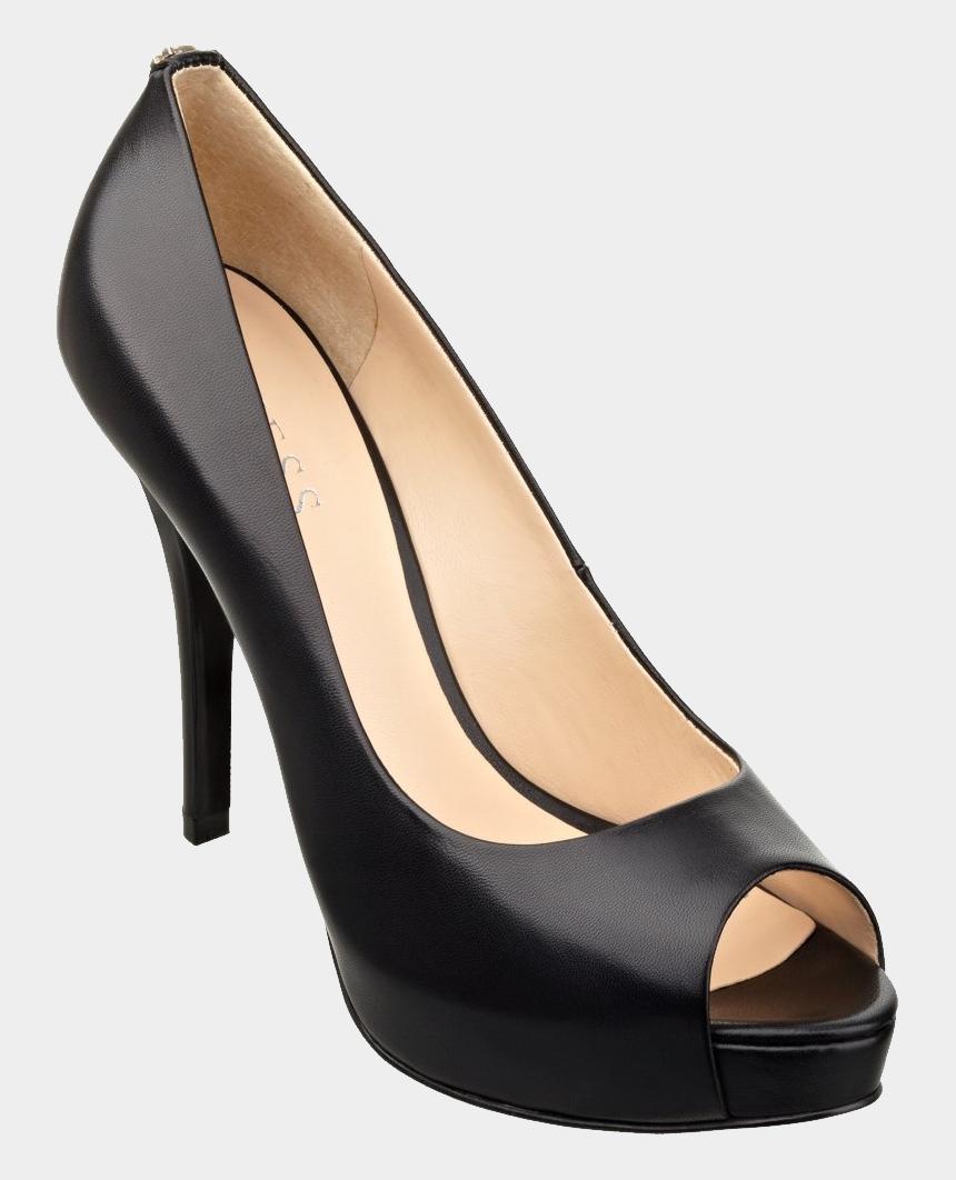 women shoe clip art, Cartoons - Black Women Shoes Png