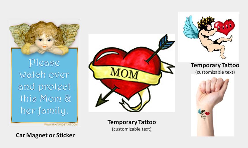 mom tattoo clip art, Cartoons - Your Name Heart Tattoo