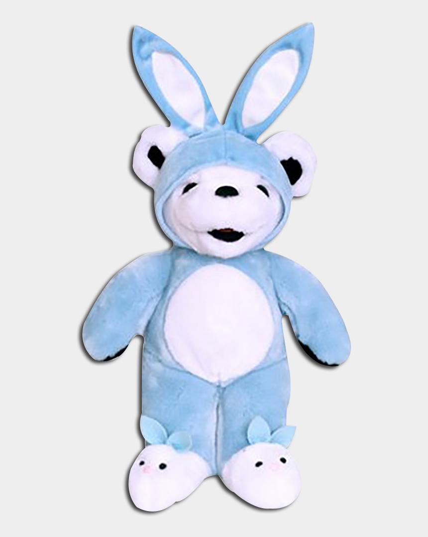 grateful dead clip art, Cartoons - Grateful Dead Easter Stuffed Teddy Bears - Bear Wearing Bunny Ears