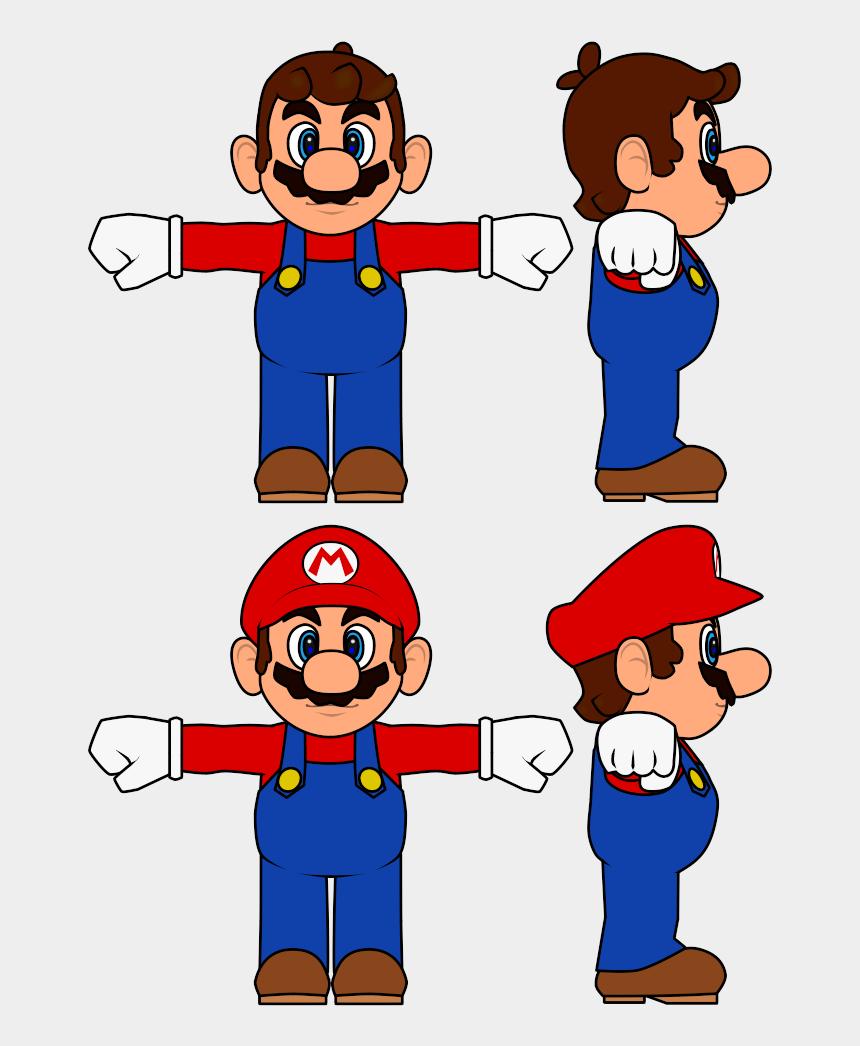 mario bros clip art, Cartoons - Mario Bros Concept Art