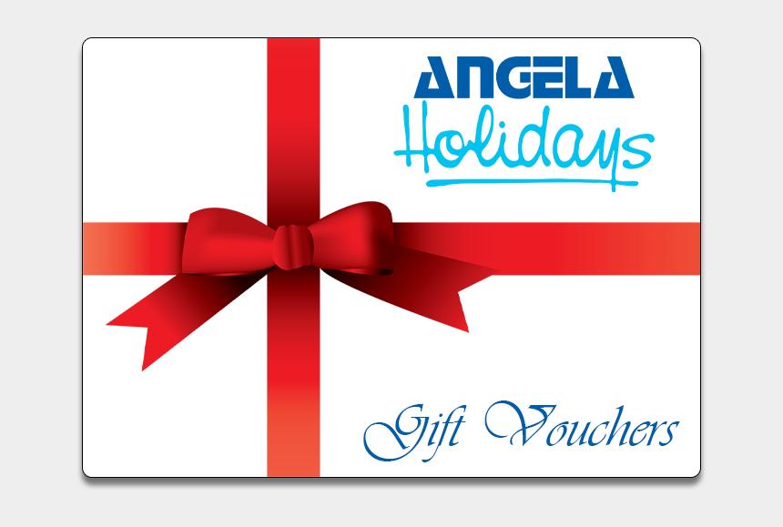 holiday gift clip art, Cartoons - Gift Voucher - Angela Holidays