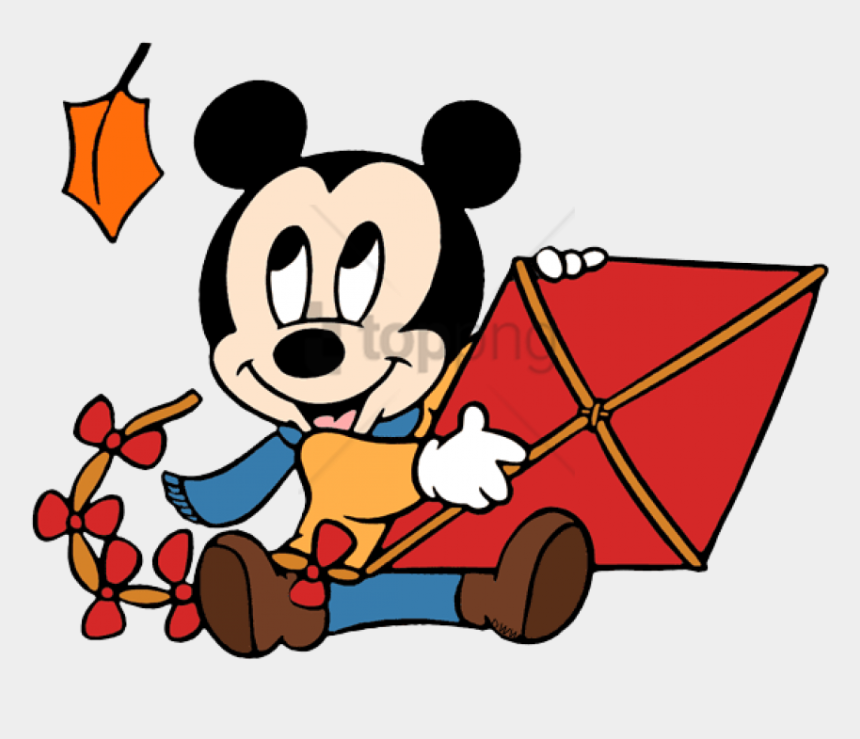 free kite clip art, Cartoons - Free Png Baby Mickey, Kite - Baby Mickey Mouse Red