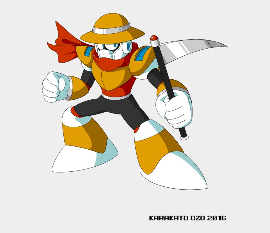 scythe clip art, Cartoons - Scythe Man Mega Fd - Nuclear Man Mega Man