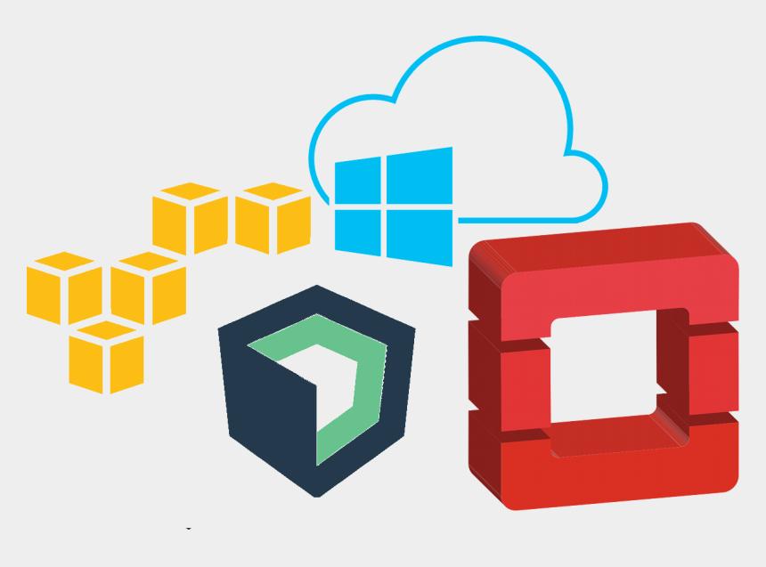 cloud shapes clip art, Cartoons - A Series Of Cloud Platform Logos - Amazon Web Service