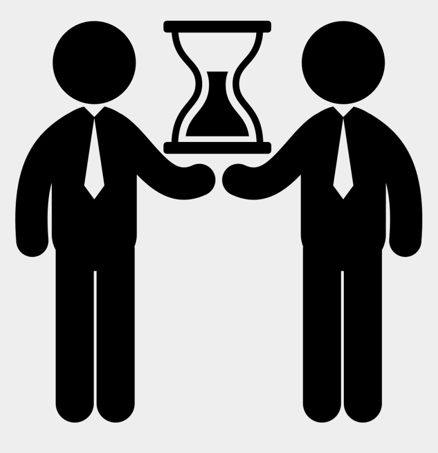two people clip art, Cartoons - Person Svg Two - People Shaking Hands Icon