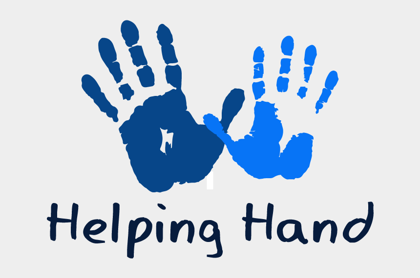 helping others clipart, Cartoons - Helping Hands Logo Png Clipart , Png Download - Helping Hand Logo Png