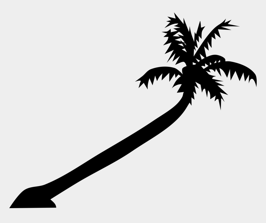 tropical clipart, Cartoons - Palm Tree Art Tropical Palm Trees Clip Go Back Images - Leaning Palm Tree Drawing