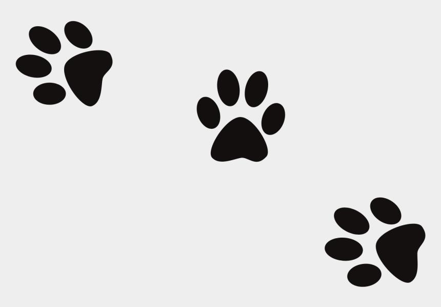 clip art dog, Cartoons - Dog Footprint Clip Art - Paw Prints Real Dogs