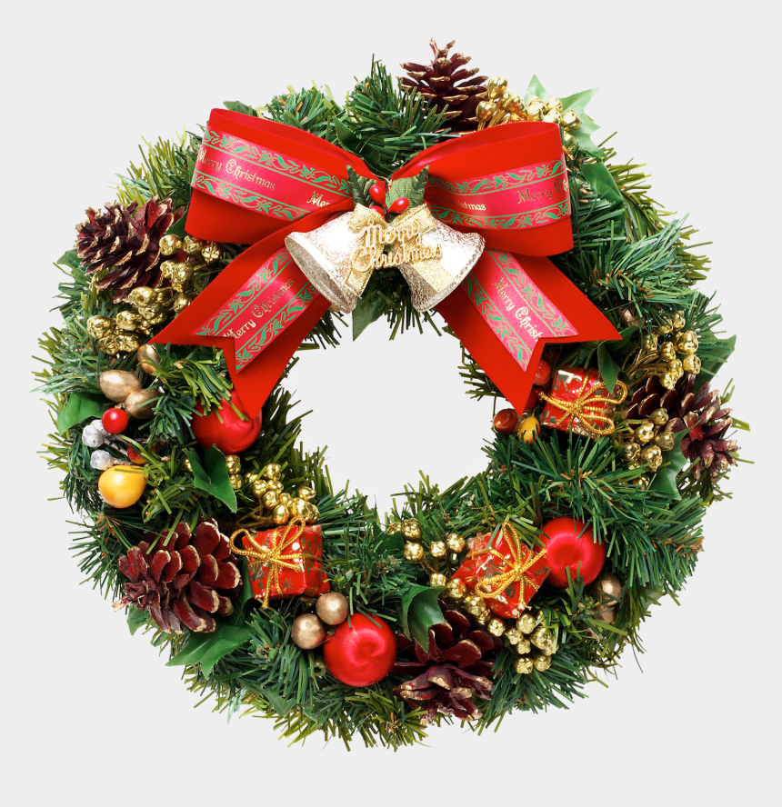 christmas wreath clip art, Cartoons - Christmas Wreath Pics - Christmas