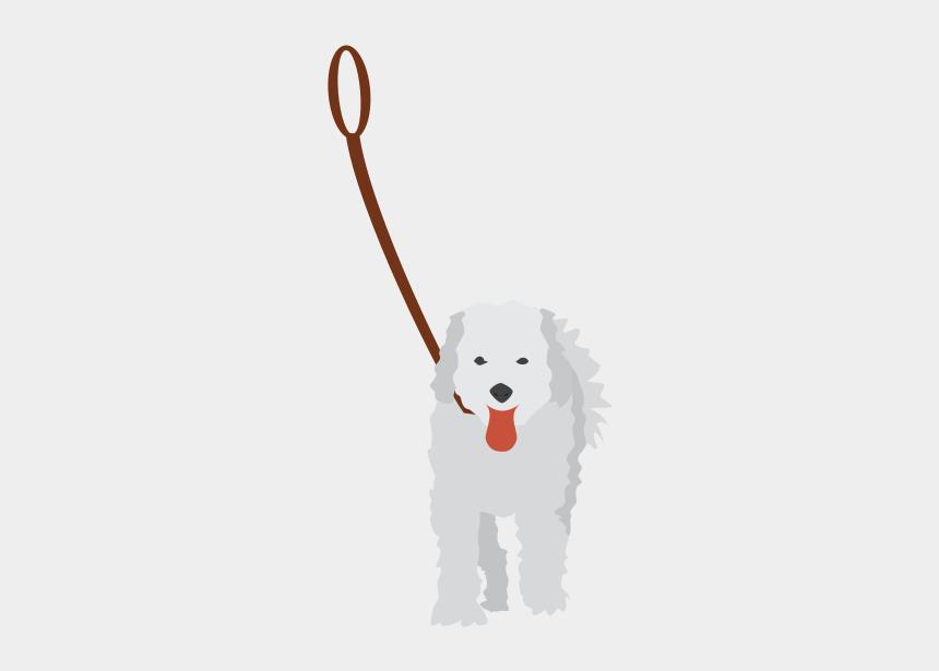 clip art dog, Cartoons - Walking The Dog Clip Art