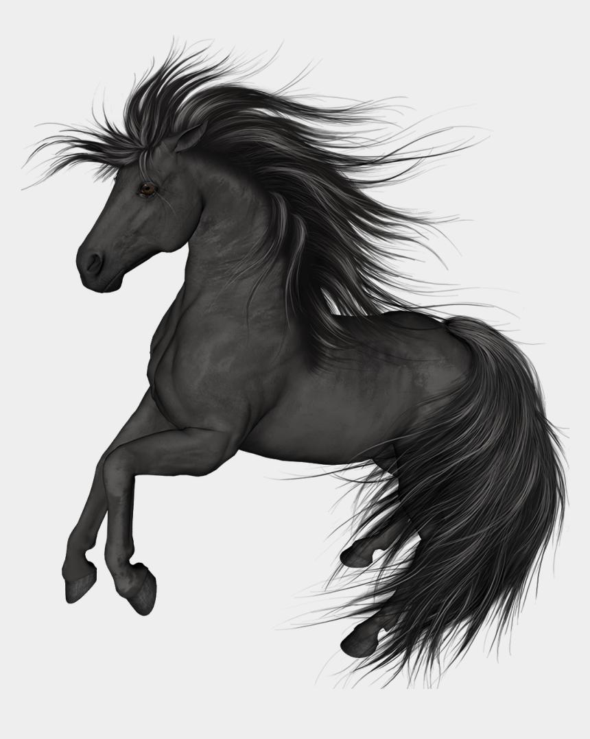 horse clip art, Cartoons - Black Horse Png Clip Art - Black Horse Transparent Background