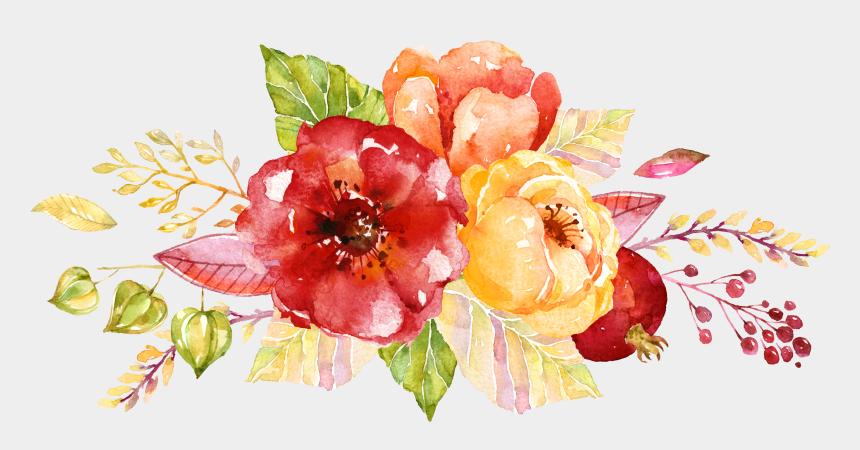 paint clip art, Cartoons - Wedding Invitation Flower Autumn Watercolor Painting - April 2018 Spring Calendar