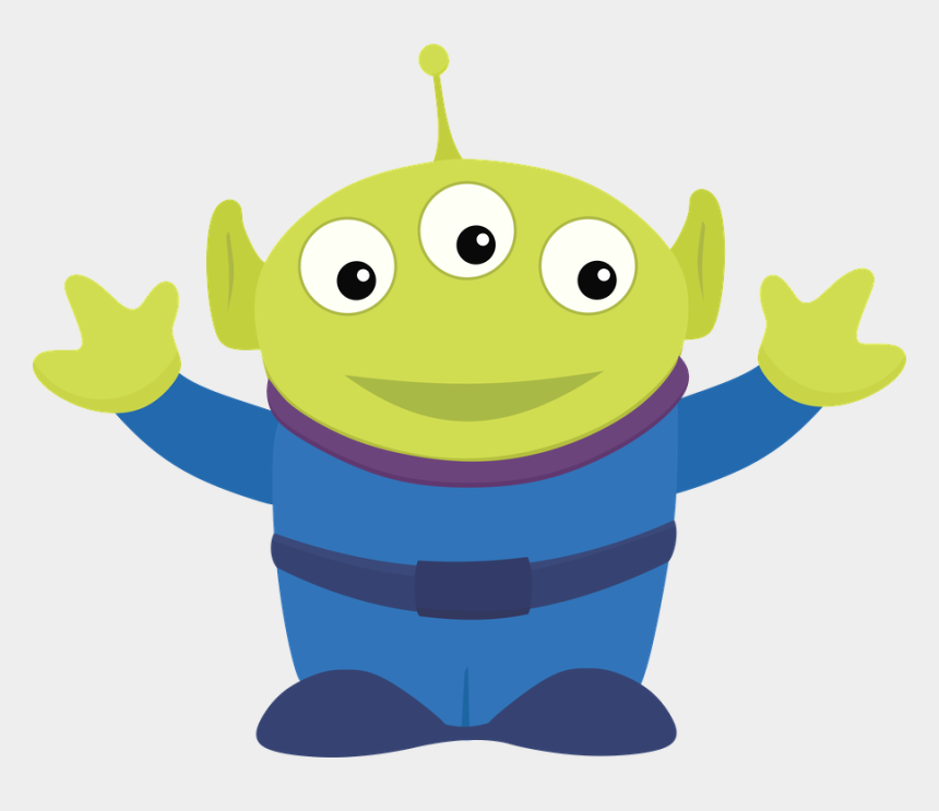 toy story clipart, Cartoons - Toy Story - Minus - Toy Story Alien