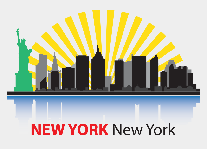 new york clipart, Cartoons - City Clipart Png - New York Cityscape Clipart