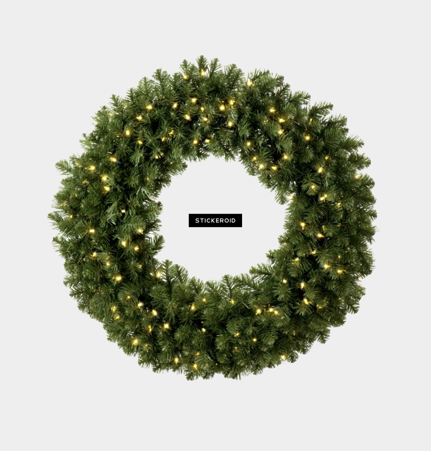 christmas wreath clip art, Cartoons - Christmas Wreath , Png Download - Transparent Background Christmas Wreath Png