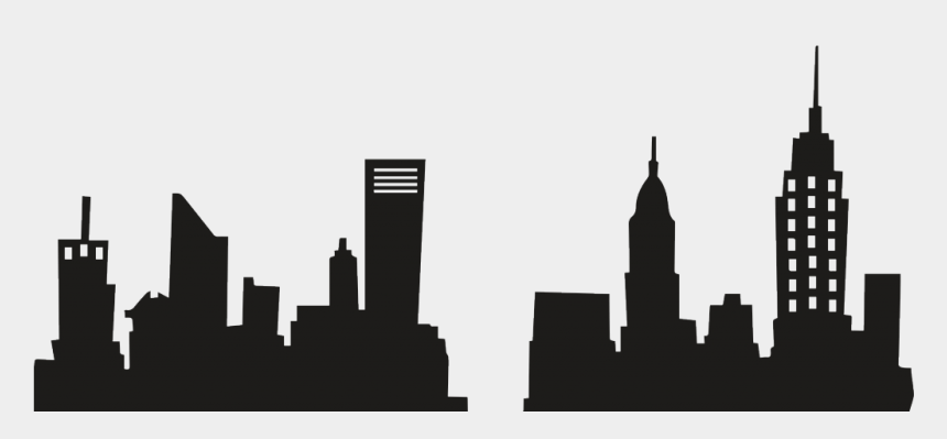 new york clipart, Cartoons - New York City Skyline Silhouette Png Image Royalty - New York City Department Of Buildings