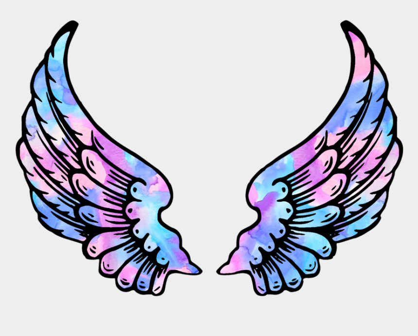 angel wings clipart, Cartoons - #wings #angel #angelwings #space #galaxy #stars #star - Cool Basketball Coloring Pages