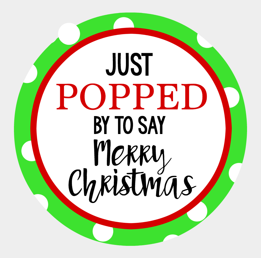 christmas gift clip art, Cartoons - Have Fun Giving This Pop Christmas Gift Idea - Popping By To Say Happy Birthday