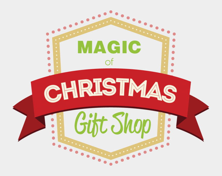 christmas gift clip art, Cartoons - Magic Of Christmas Gift Shop - Christmas Gift Shop Sign