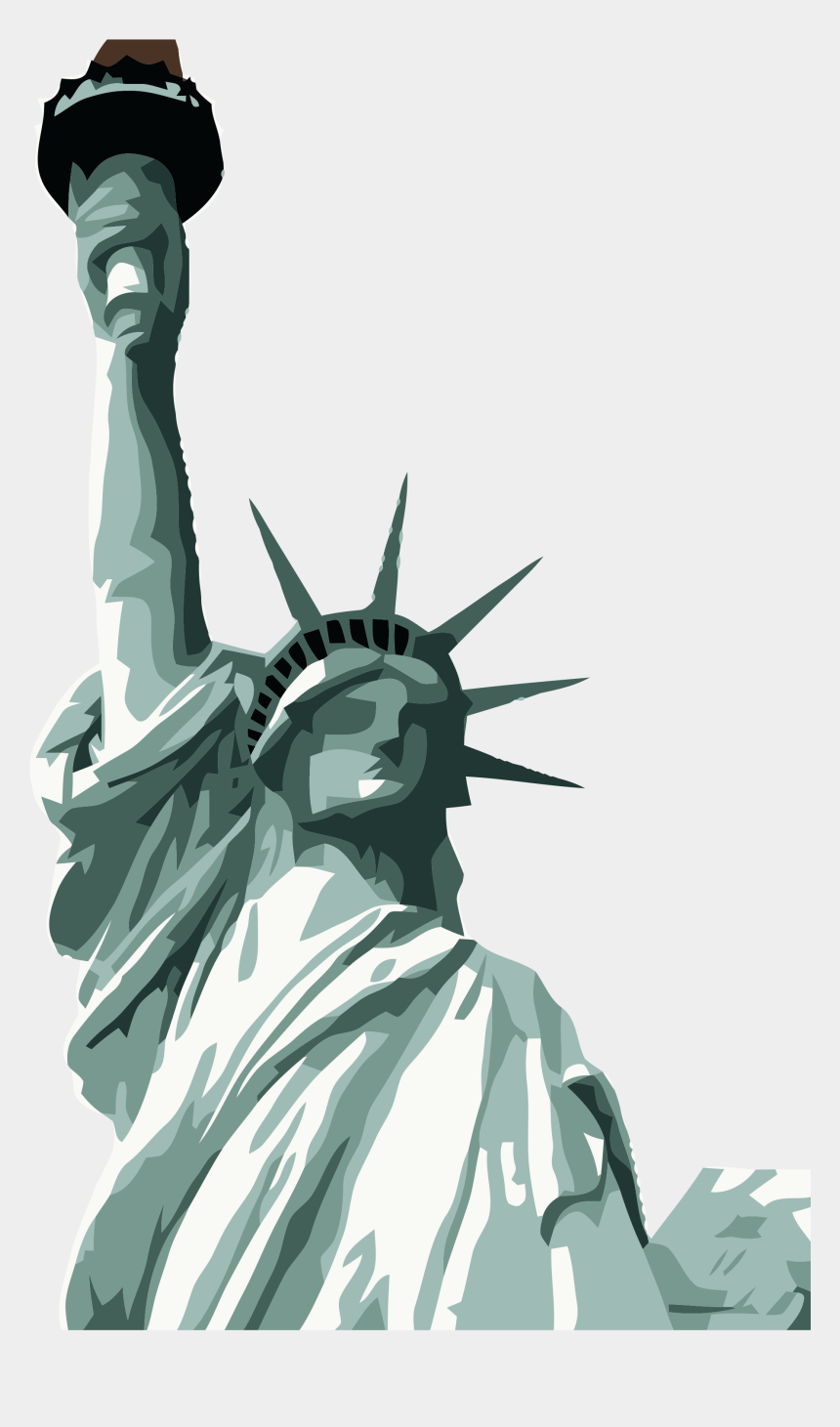 new york clipart, Cartoons - Statue Of Liberty Png - Statue Of Liberty