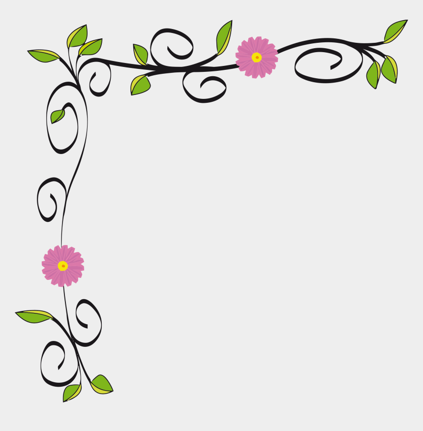 clip art border, Cartoons - Collection Of Free Spring Vector Border Download On - Simple Design Of Border