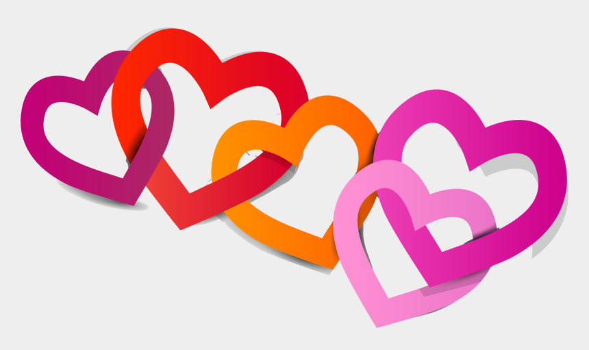 love clip art, Cartoons - Album, Clip Art, Heart, Scrapbook, Missing You Love, - Love Chain Png