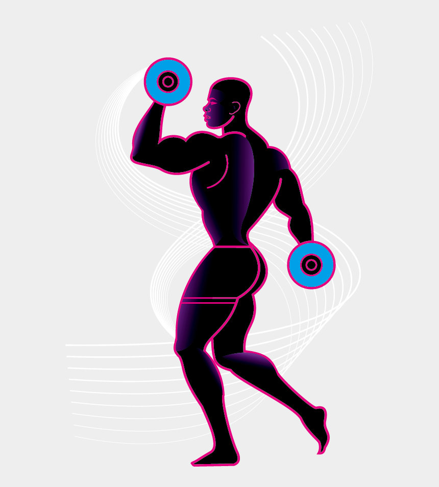 weightlifting clipart, Cartoons - Weight Training Olympic Weightlifting Silhouette Physical - Homem Levantando Peso Png