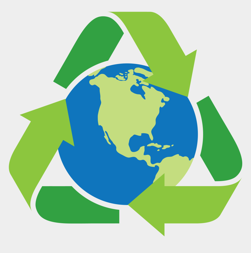 recycle clip art, Cartoons - Earth Png Transparent - Earth Recycle Png