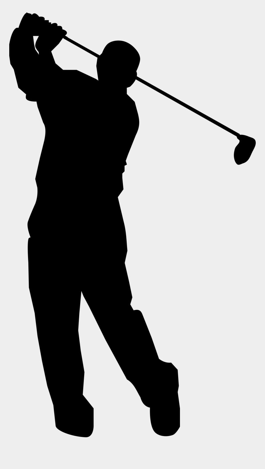 golf club clip art, Cartoons - Golf Ball Png - Golfer Clipart Black And White