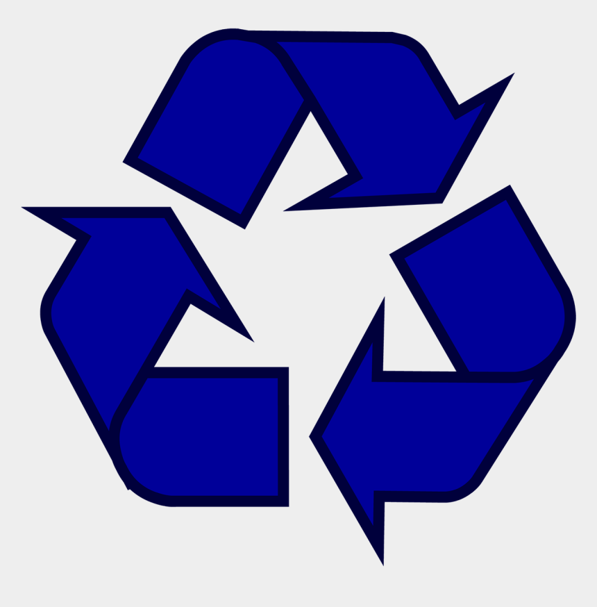 recycle clip art, Cartoons - Recycling Symbol Icon Outline Sol - Recycle Symbol