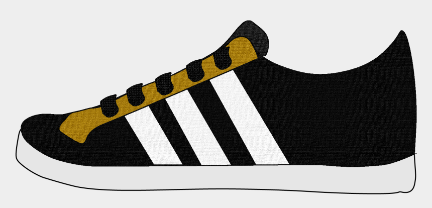 sneakers clipart, Cartoons - Casual Sneakers Shoes For Men And Women Clipart Side - Tênis Adidas Neo Vs Advantage Masculino