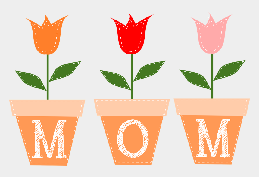 tulips clipart, Cartoons - Flower Mothers Day Clipart